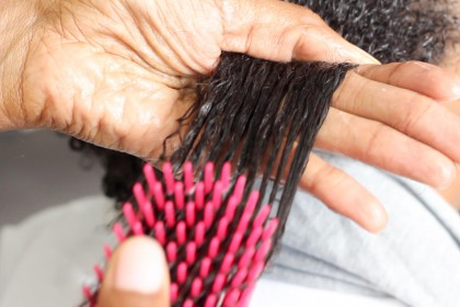 detangling 3c hair