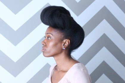 pompadour natural hair